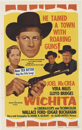Wichita 1 sheet movie poster, Anonymous Artists