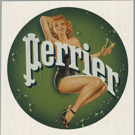 Perrier (Water), Anonymous Artists