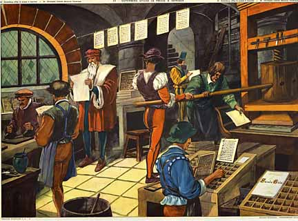 Gutenberg Press, Anonymous Artists