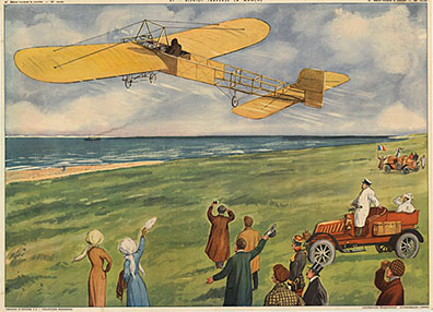 Bleiot Traverse la Manche (Monoplane), Anonymous Artists