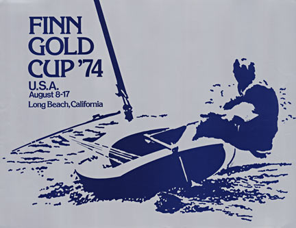 Finn Gold Cup 1975, Signed