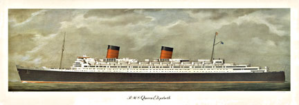 R. M. S. Queen Elizabeth, Anonymous Artists