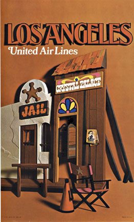 Los Angeles - United Air Lines, Anonymous Artists