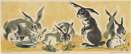 Rabbitt - children's panel, Anonymous Artists