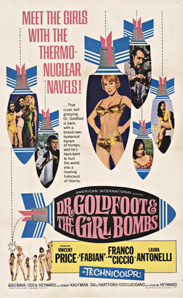 Anonymous Artists - Dr. Goldfoot & the Girl Bombs border=
