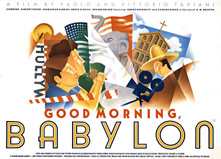 Good Morning, Babylon, Anonymous Artists
