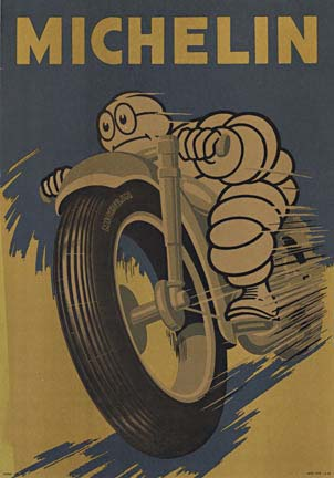 Michelin Motorcycle, Anonymous Artists