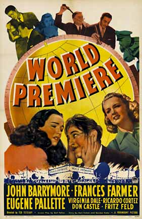 World Premier (US 1 sheet), Anonymous Artists