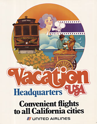Vacation USA  - United Airlines, Anonymous Artists