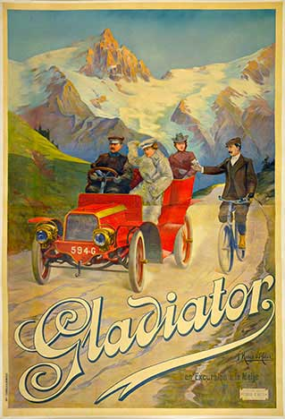 Gladiator Automobile, F.  Hugo d'Alesi