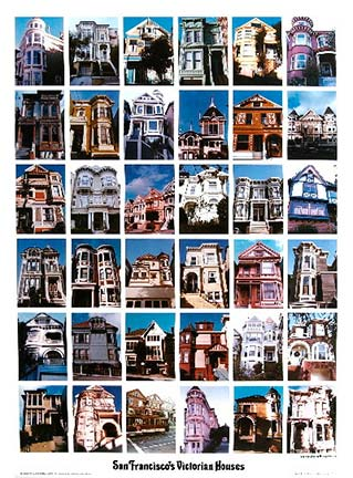 San Francisco Victorian Homes, Signed
