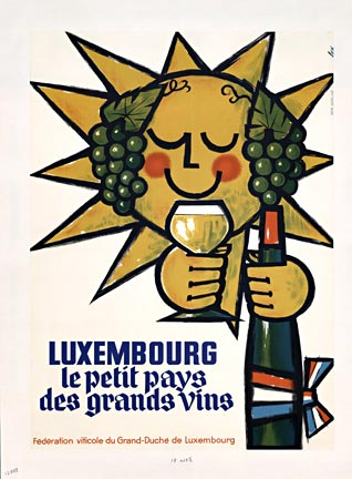 Signed - Luxembourg (Sun / Wine) border=