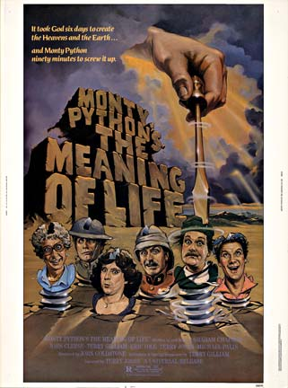 Anonymous Artists - The Meaning  of Life Monty Python's border=