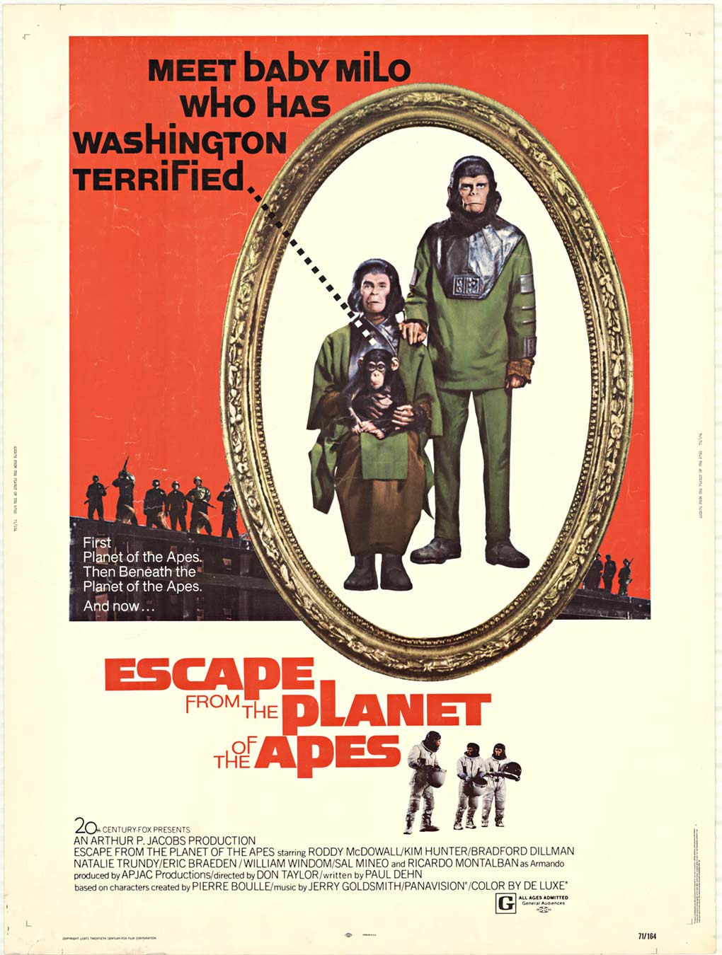 Escape from the Planet of the Apes, Anonymous Artists