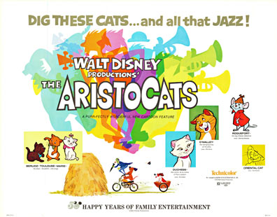 The Aristocats, Walt Disney