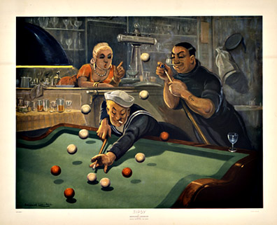 Tipsy (Billards) (Pool), Bernard Leemker
