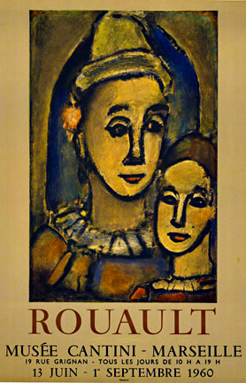 Rouault Musee Cantini Marseille DUO, Georges Henri Rouault