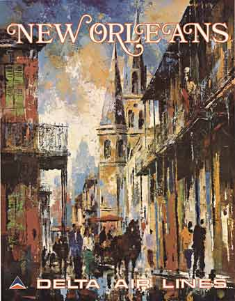 New Orleans Delta Air Lines, Jack Laycox