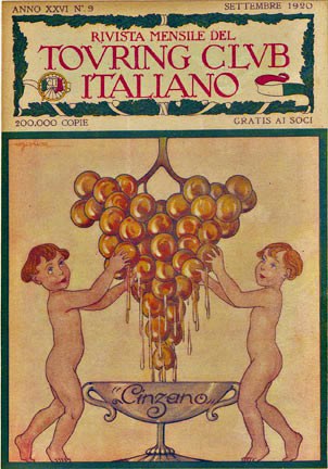 Cinzano - Touring Club Italiano, Anonymous Artists