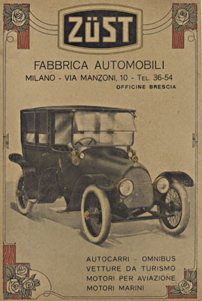 Zust Fabbrica Automobili, Anonymous Artists
