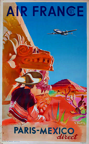 Air France  Paris-Mexico direct, Serge Proust