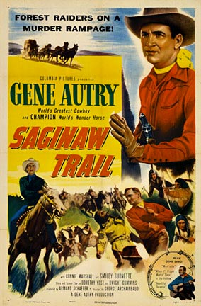 Saginaw Trail (Gene Autry), Anonymous Artists