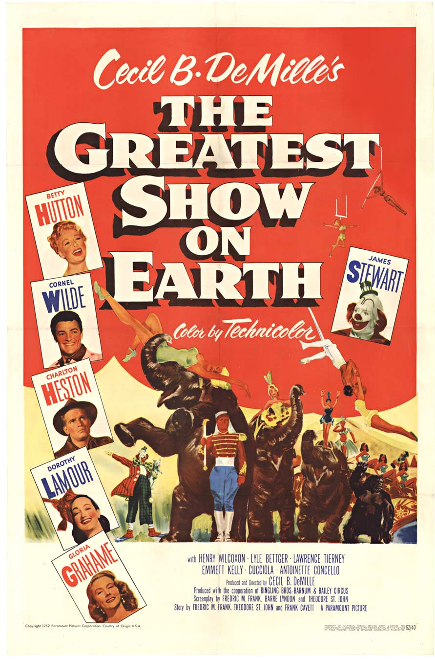 Greatest Show on Earth, Anonymous Artists
