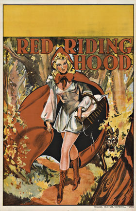 Anonymous Artists - Red Riding Hood border=