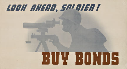 Anonymous Artists - Look Ahead Soldier Buy Bond border=