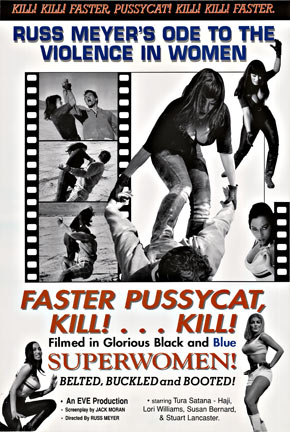 Kill! Kill! Faster Pussy Cat Kill! Kill! Faster, Anonymous Artists