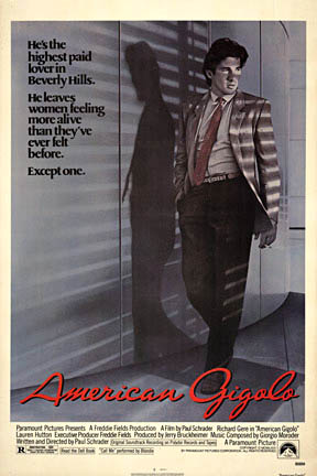 American Gigolo, Anonymous Artists