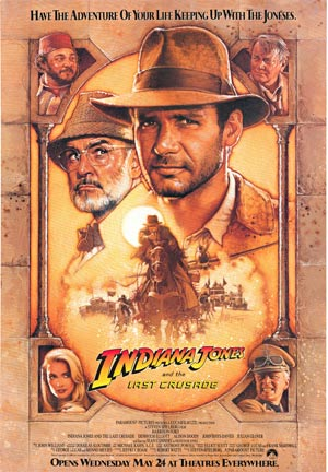 Indiana Jones & The Last Crusade, Drew Struzan