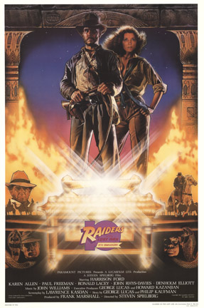Drew Struzan - Raiders of the Lost Ark Style A border=