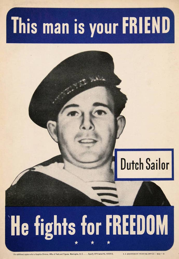Anonymous Artists - THIS MAN IS YOUR FRIEND - Dutch Sailor border=