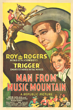 Man from Music Mountain (Roy Rogers), Anonymous Artists