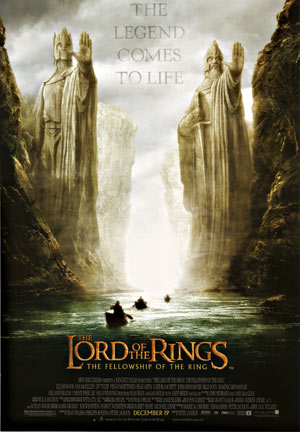The Lord of the Rings Advance 1 sheet, Anonymous Artists