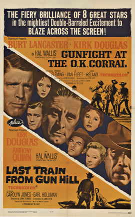 GUNFIGHT AT THE OK CORRAL/LAST TRAIN FROM GUN HILL, Anonymous Artists