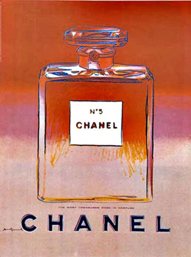Andy Warhol - Chanel No 5 Red/ Pink (S) border=