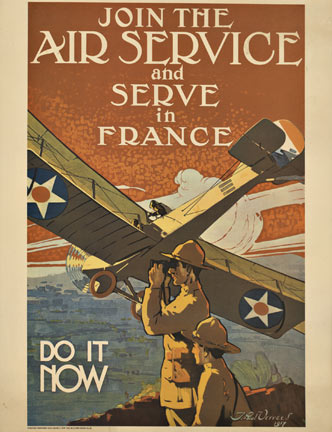 Join the Air Service, J. Paul Verrees