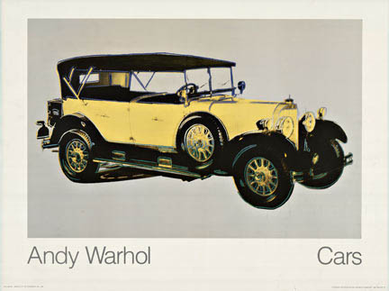 Andy Warhol Cars, Andy Warhol