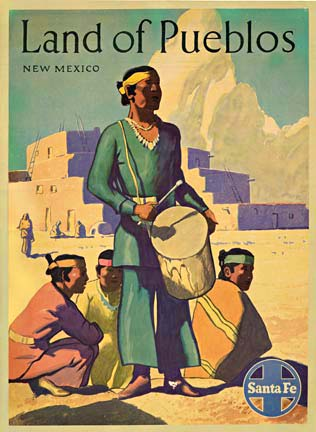 Land of Pueblos, Anonymous Artists