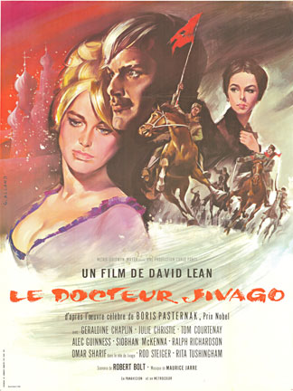 Dr. Jivago (French) DOCTOR ZHIVAGO, David Lean Julie Christie