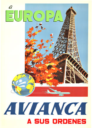 EUROPE Avianca, Anonymous Artists