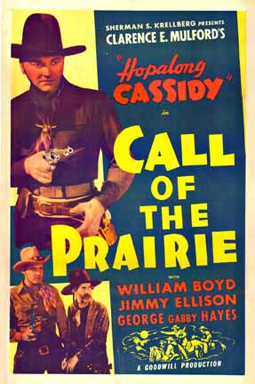 Hopalong Cassidy Call of the Prairie, Anonymous Artists