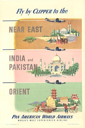 Pan Am Near East, India, Pakistan, Anonymous Artists