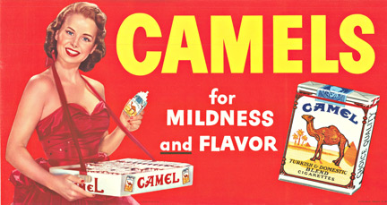 Camel Cigarettes, Anonymous Artists