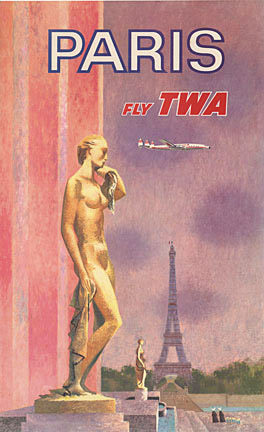 TWA Airlines Paris, David Klein