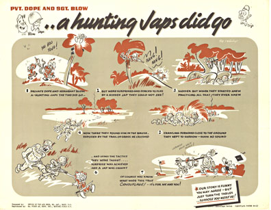 .. A hunting Japs did go, Anonymous Artists