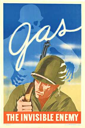GAS The Invisible Enemy., Anonymous Artists