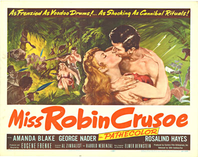 Anonymous Artists - Miss Robin Crusoe border=